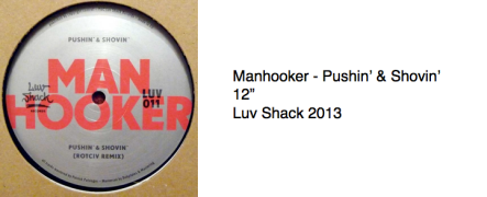 Manhooker - Pushin' & Shovin'