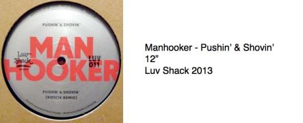 Manhooker - Pushin' & Shovin'