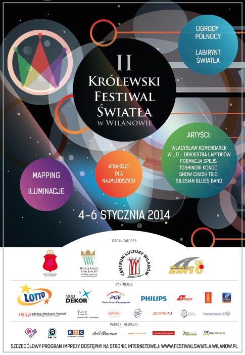 II Krolewski Festiwal Swiatla