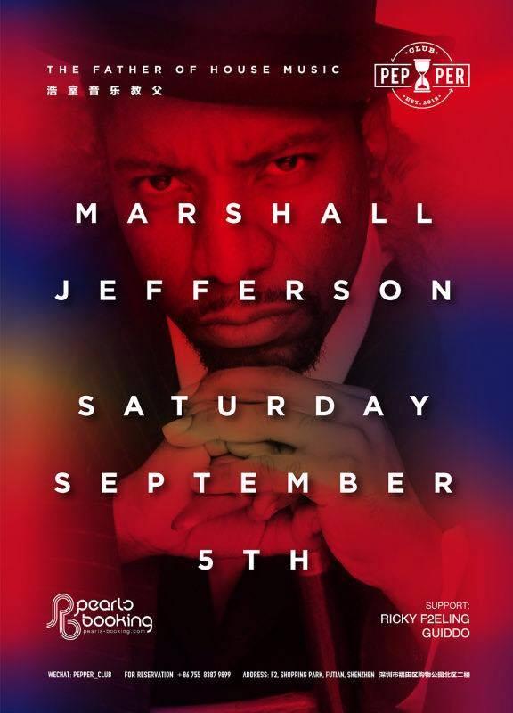 marshall jefferson at pepper 2015