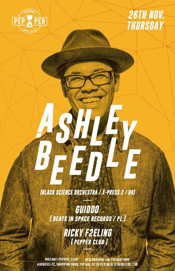 Ashley Beedle Pepper guiddo