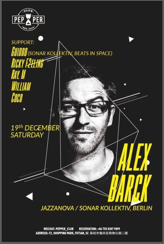 Alex Barck at Pepper Club