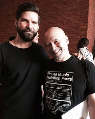 Guiddo and Danny Krivit at MoMA PS1