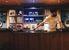 In The Music Room at Potato Head Hong Kong